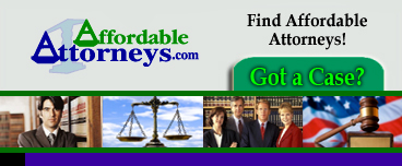 Need help right away? Talk to an Affordable Attorney Now!
